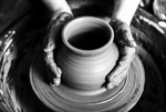 Сlipart Pottery Potter Human Hand Molding Clay photo  BillionPhotos