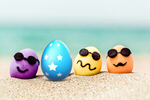 Сlipart easter travel egg beach tourism   BillionPhotos