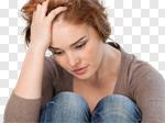 Сlipart Depression Women Sadness Teenager Violence photo cut out BillionPhotos