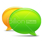 Сlipart chat text bubble speech bubble speech bubbles speech balloon vector icon cut out BillionPhotos
