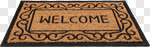 Сlipart Doormat Welcome Sign Greeting Floor Mat Door photo cut out BillionPhotos