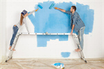 Сlipart painting changing barefoot applying apartment photo  BillionPhotos