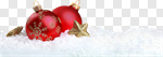 Сlipart Christmas Backgrounds Snow Christmas Ornament Red photo cut out BillionPhotos