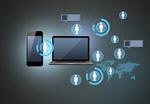 Сlipart concept modern wireless book network vector  BillionPhotos
