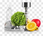 Сlipart gym workout closeup drink food photo cut out BillionPhotos