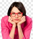 Сlipart Glasses Women Business Businesswoman Human Face photo cut out BillionPhotos