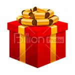 Сlipart gift gift box anniversary celebration birthday vector icon cut out BillionPhotos
