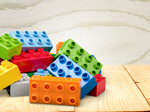 Сlipart Blocks on the desk brick rectangle fun green   BillionPhotos