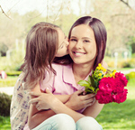 Сlipart mother flower daughter tulips mom   BillionPhotos