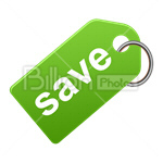 Сlipart Save tag Save Sale Discount Shopping vector icon cut out BillionPhotos