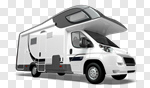 Сlipart Motor Home Car Isolated Land Vehicle White 3d cut out BillionPhotos