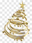 Сlipart Christmas Christmas Decoration Tree Christmas Ornament Contemporary 3d cut out BillionPhotos