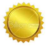 Сlipart label stamp zigzag circle emblem vector icon cut out BillionPhotos