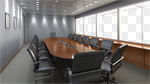 Сlipart Office Board Room Office Building Sparse Business 3d cut out BillionPhotos