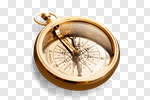 Сlipart Compass Old Gold Work Tool Hiking photo cut out BillionPhotos