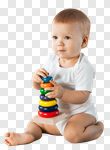Сlipart Baby Child Preschool Toy Playing photo cut out BillionPhotos