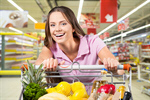 Сlipart Supermarket Female Shopping Cart Shopping Groceries   BillionPhotos
