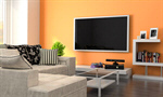 Сlipart Entertainment Center Living Room Television Home Interior Domestic Room 3d  BillionPhotos