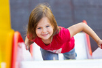 Сlipart Child Playing Playground Little Girls Outdoors photo  BillionPhotos
