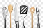 Сlipart Kitchen Utensil Wire Whisk Spatula Rolling Pin Spoon photo cut out BillionPhotos