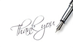 Сlipart Thank You Fountain Pen Pen Gratitude Letter photo  BillionPhotos