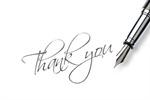 Сlipart Thank You Fountain Pen Pen Gratitude Letter photo  BillionPhotos