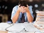 Сlipart Emotional Stress Working Occupation Depression Paperwork   BillionPhotos