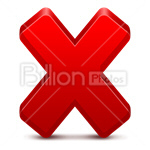 Сlipart close close button close symbol close icon closing vector icon cut out BillionPhotos