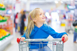 Сlipart Supermarket Shopping Child Shopping Cart Inside Of photo  BillionPhotos