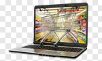 Сlipart Internet E-commerce Store Shopping Cart Shopping 3d cut out BillionPhotos