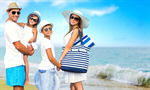 Сlipart dad beach sea mom son   BillionPhotos
