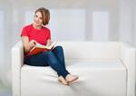 Сlipart Reading Book Sofa Women People   BillionPhotos