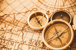 Сlipart Compass Direction Map Three Objects Discovery photo  BillionPhotos