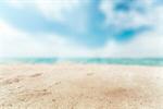 Сlipart sand beach summer background white photo  BillionPhotos