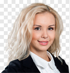 Сlipart Women Business Smiling Businesswoman Business Person photo cut out BillionPhotos