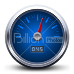 Сlipart speedometer speed meter rapid race vector icon cut out BillionPhotos