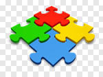 Сlipart Puzzle Teamwork Jigsaw Puzzle Jigsaw Piece Connection 3d cut out BillionPhotos