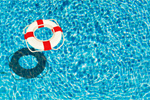 Сlipart Lifebuoy in pool pool water swimming summer   BillionPhotos