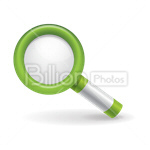 Сlipart Magnifying Glass Searching Glass Discovery search symbol vector icon cut out BillionPhotos