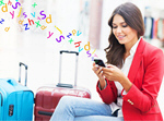 Сlipart airport travel traveler phone plane   BillionPhotos