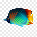 Сlipart Fish Turtle Sea Shell Dolphin vector cut out BillionPhotos