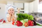 Сlipart child chef eat food kid fruit   BillionPhotos