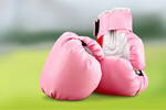 Сlipart Pink Breast Cancer Sports Glove Boxing Glove Breast Cancer Awareness Ribbon   BillionPhotos