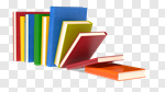 Сlipart Book Education Library Stack Learning 3d cut out BillionPhotos