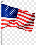 Сlipart American Flag Flag American Culture USA Waving photo cut out BillionPhotos