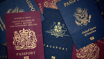 Сlipart Passport ID Card Australia Travel UK 3d  BillionPhotos