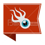 Сlipart squidoo Sharing Social Media social button Bookmark vector icon cut out BillionPhotos