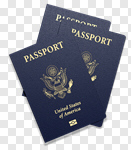 Сlipart Passport Travel Customs Isolated ID Card 3d cut out BillionPhotos