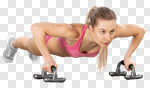 Сlipart fit fitness pushup cross weight photo cut out BillionPhotos