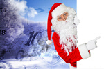 Сlipart santa claus sell white hat   BillionPhotos